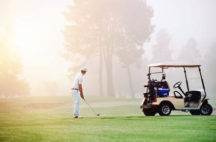 golf approach shot